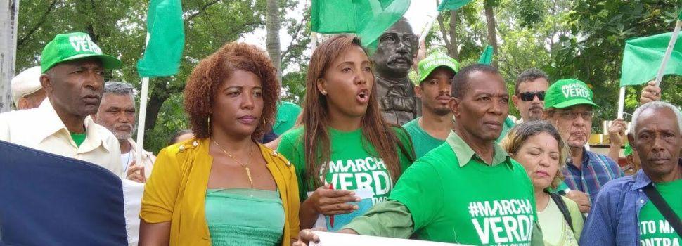Anuncia Marcha Verde para la zona este