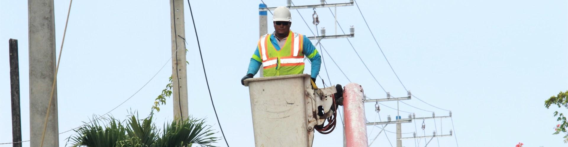 Edenorte rehabilita redes en Villa Tapia