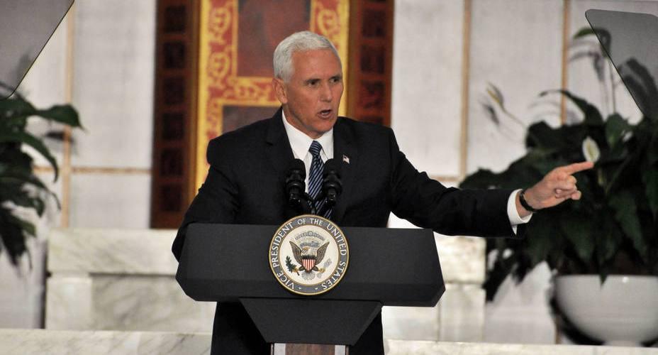 Pence dice EEUU busca libertad de Venezuela
