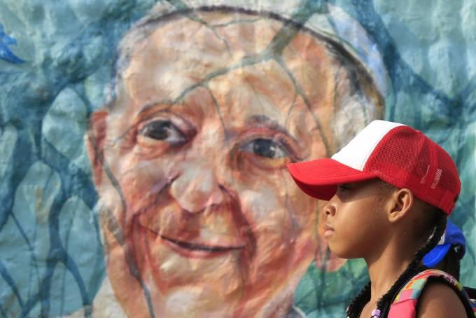 mural papa francisco
