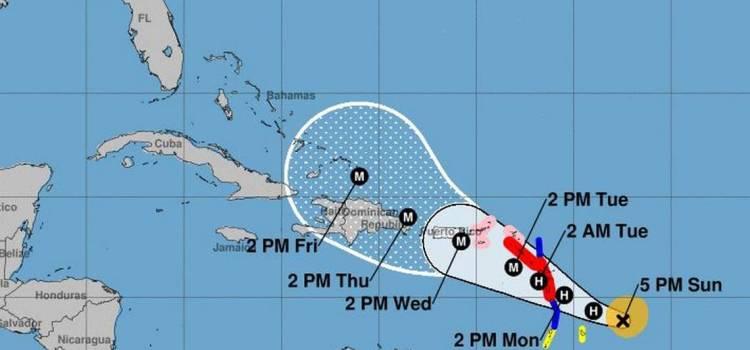 Tormenta tropical María se fortalece