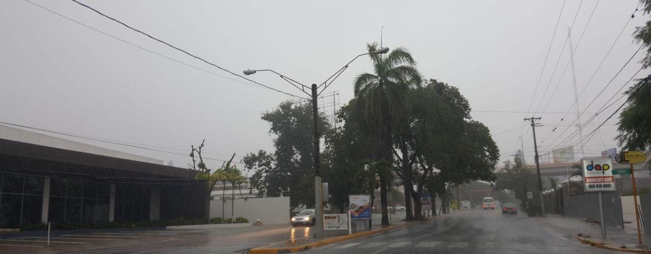 Huracán Irma comienza a sentirse en RD