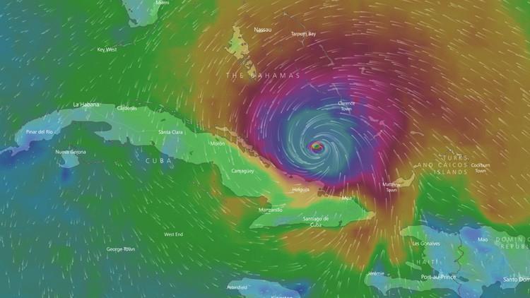 Huracán Irma empieza afectar Cuba