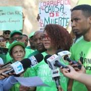 Marcha Verde insiste someter a Danilo