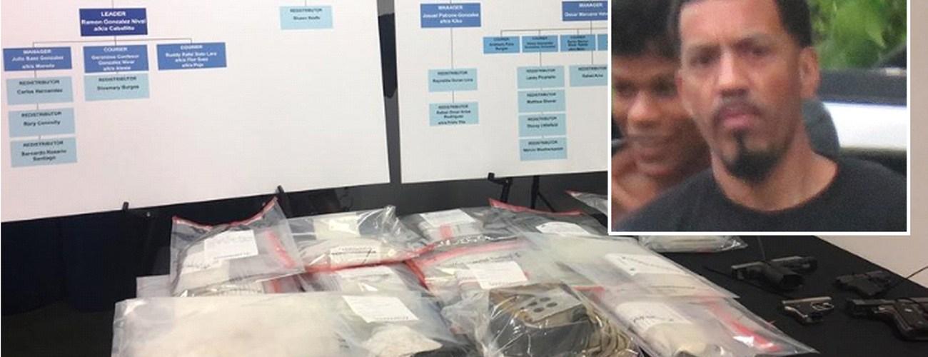 Agregan cargos contra grupo narcos