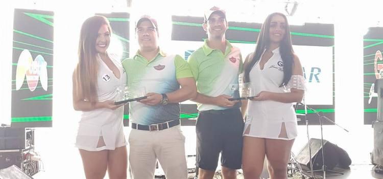 Álvarez y Tavares conquistan torneo golf