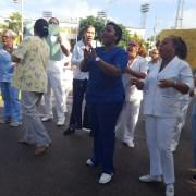 Enfermeras también declaran huelga