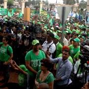 Marcha Verde se concentra cerca de Palacio