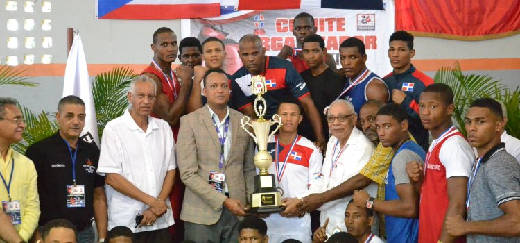 Selección RD gana Copa de Boxeo