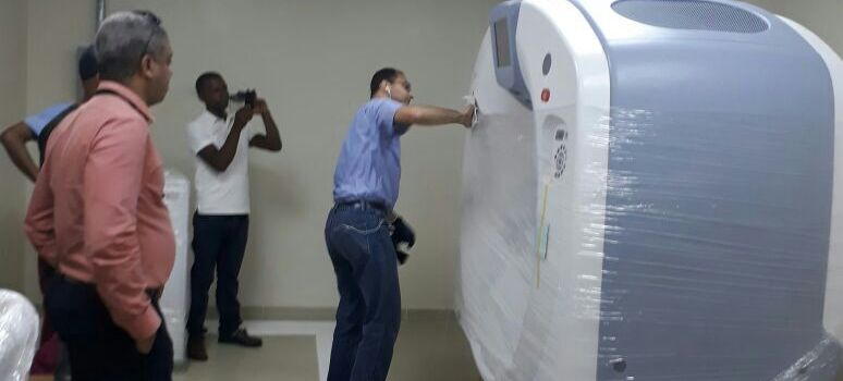 Instalan tomógrafo hospital de niños