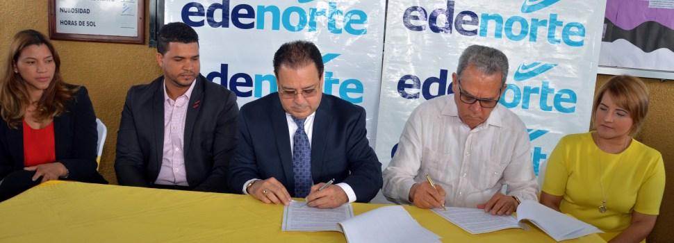 EDENORTE e IATESA firman convenio