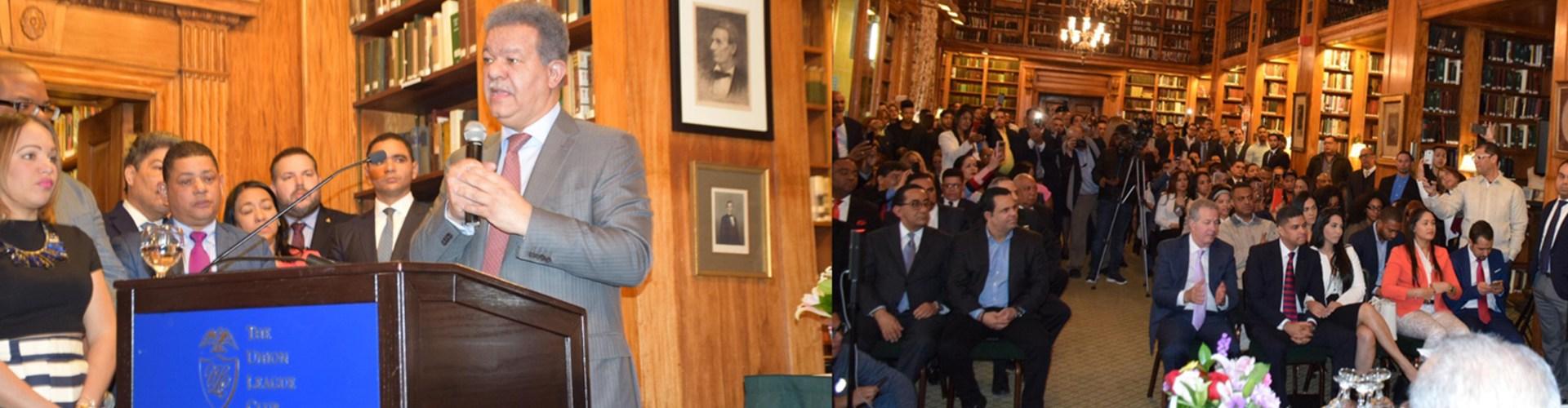 Leonel pide a jóvenes ejercer la política