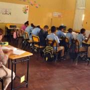 Pocos estudiantes en reinicio de clases