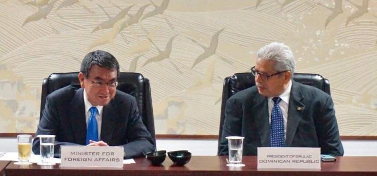 Informan actividades entre embajadores y Japón