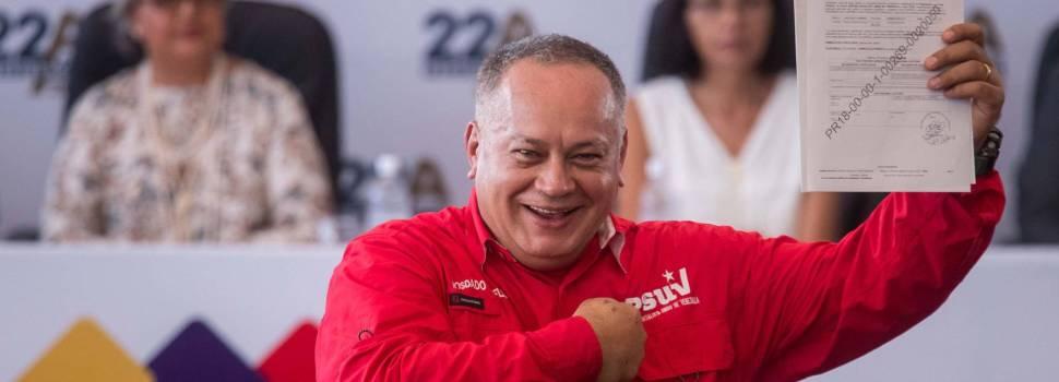 Otras sanciones a Cabello; también su familia