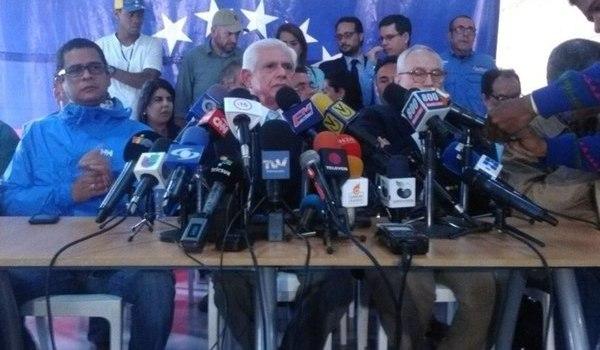 Oposición Venezuela no acepta diálogo
