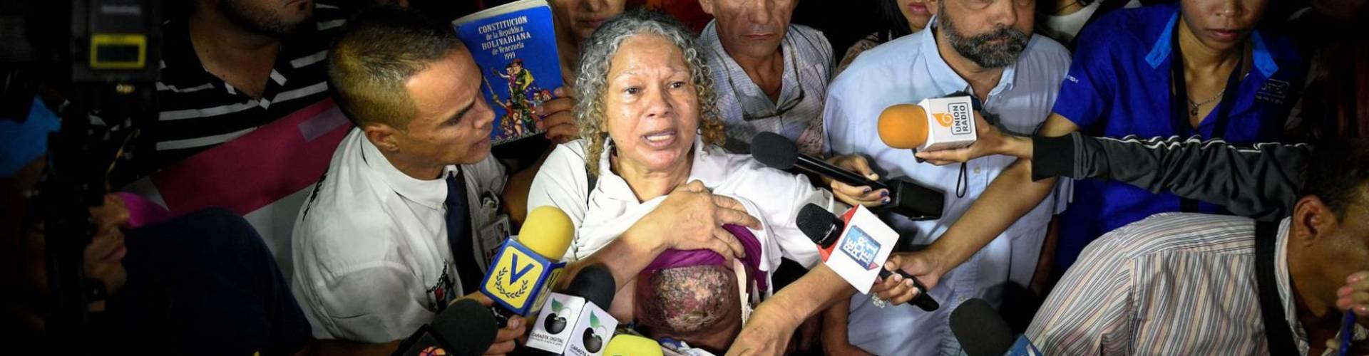 Seno enfermo resalta crisis salud Venezuela