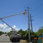 Edenorte optimiza servicio en Laguna Salada