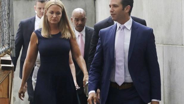 Hijo de Trump y esposa en proceso de divorcio