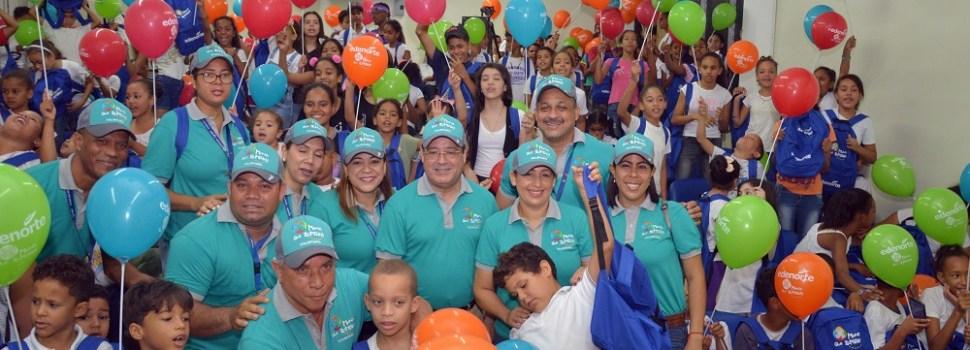 Edenorte apoya campamento verano niños