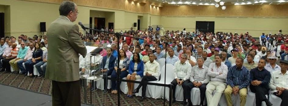 Amarante dará buen trato sector agropecuario