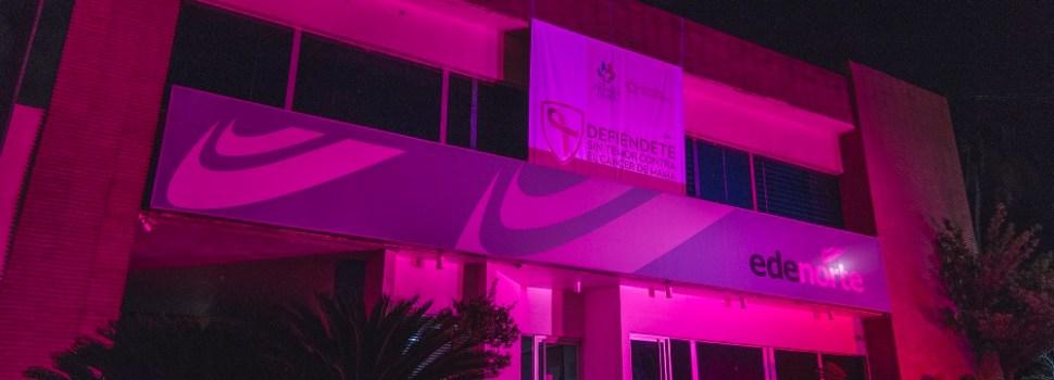 Edenorte apoya lucha contra cáncer de mama