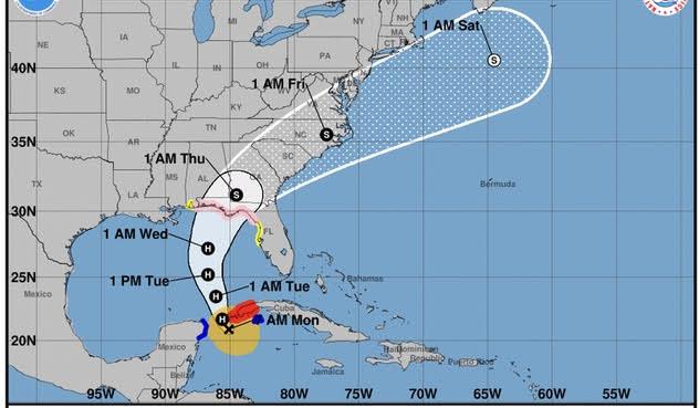 Informan que se fortalece tormenta Michael