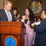 Dominicana de origen humilde es juez en Newark