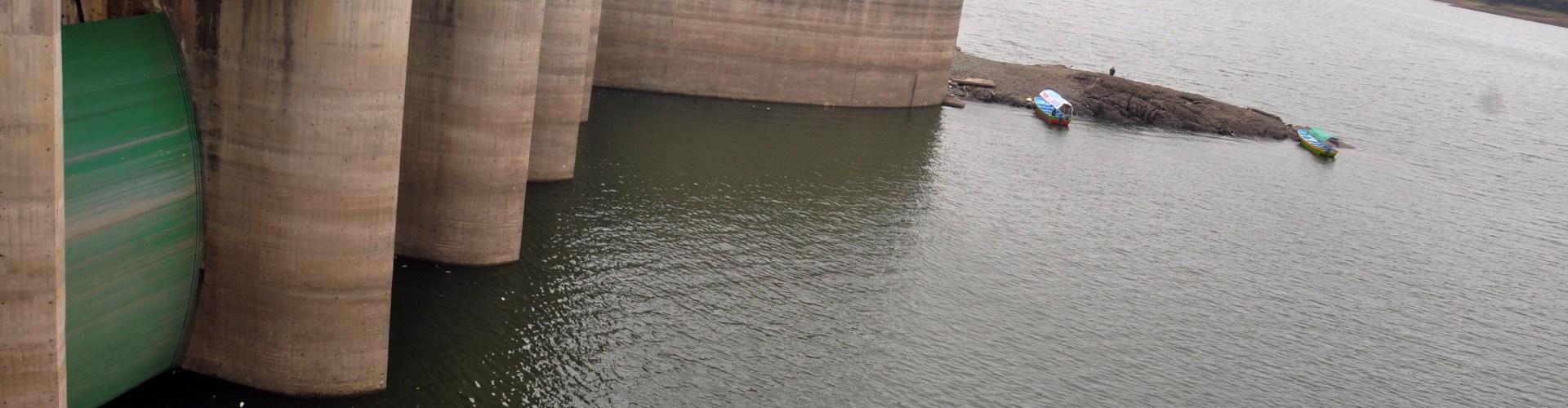 Lluvias hacen embalse presa tenga más agua