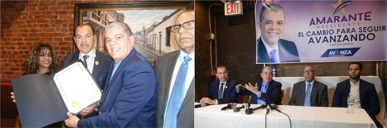 Baret resalta aportes económicos dominicanos