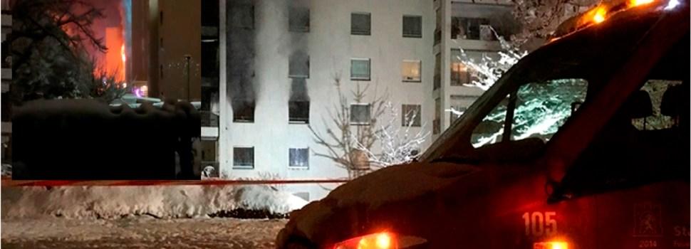 Hombre e hijos mueren en incendio provocó
