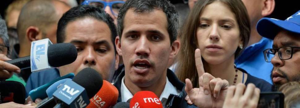 Embajadores Unión Europea esperan a Guaidó