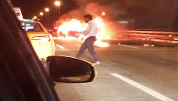 Condenan hombre dejó mujer morir quemada