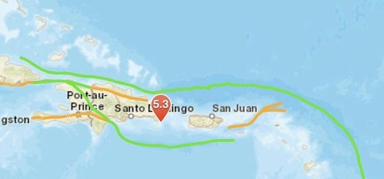 Sismo sacude parte territorio dominicano