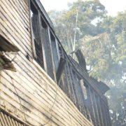 Investigan incendio casa familia de Balaguer