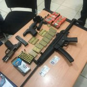 Autoridades decomisan armas de fuego y municiones