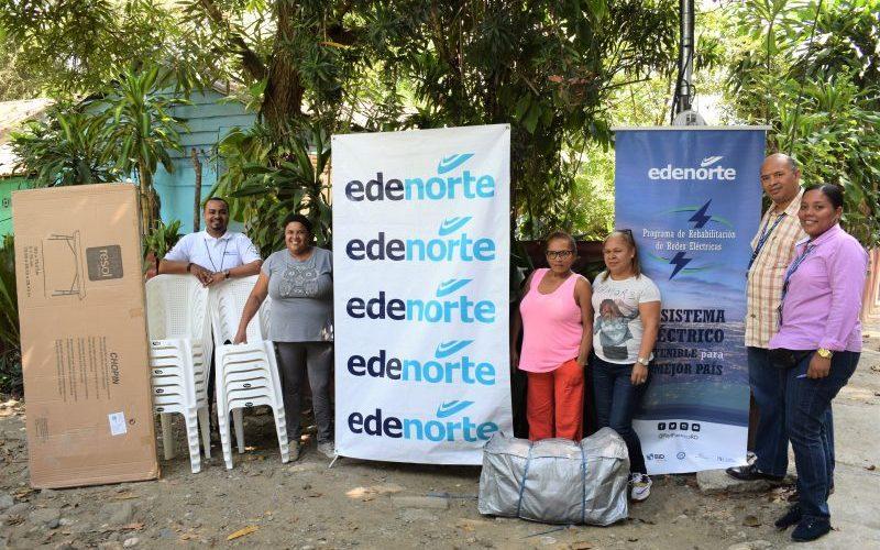 Edenorte entrega donativos entidades comunitarias