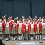 Celebran festival regional de coros escolares