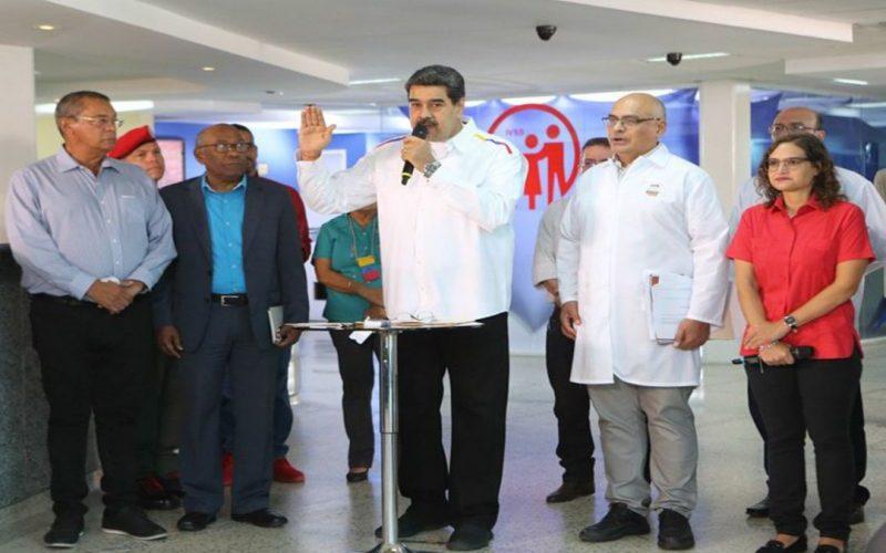 Maduro dice no llega ayuda prometió ONU