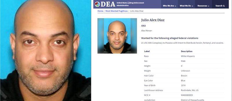 Dominicano encabeza lista buscados por DEA