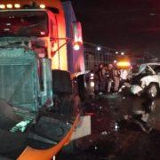 Un muerto y cuatro heridos accidente de tránsito