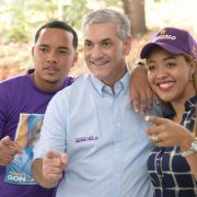 Gonzalo termina gira candidatos municipales