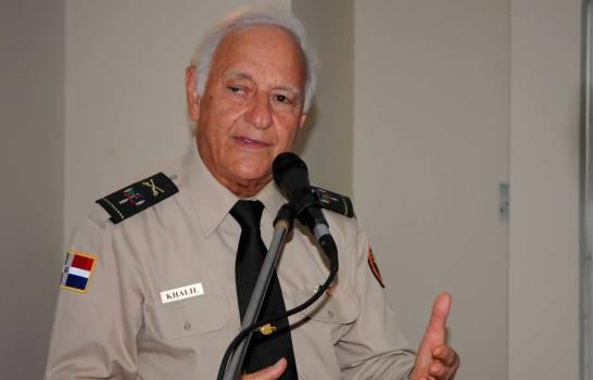 Fallece coronel Kalil Haché víctima del coronavirus