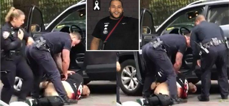 Demandarán policía NY por muerte de joven