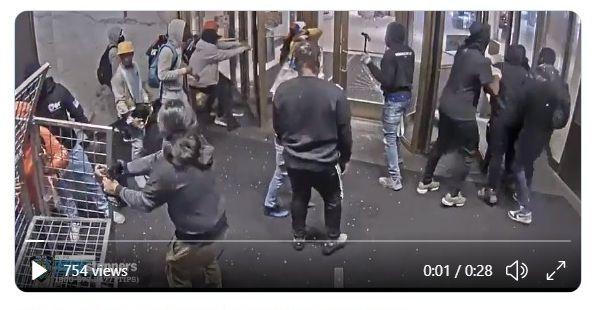 Divulgan vídeo de vandalismo en tienda Macy´s