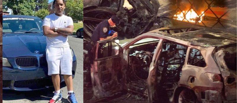 Dominicano y novia mueren en choque vehículo