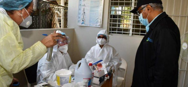 Cientos positivos a pruebas rápidas en sur de Santiago