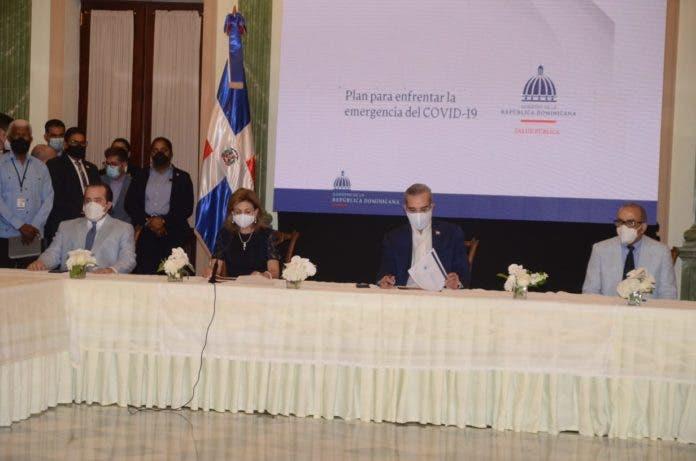 Abinader convoca líderes país a lucha crisis sanitaria