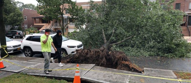 Reportan un muerto en Queens por tormenta