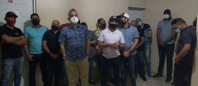 Banda Real presa por violar toque de queda en fiesta